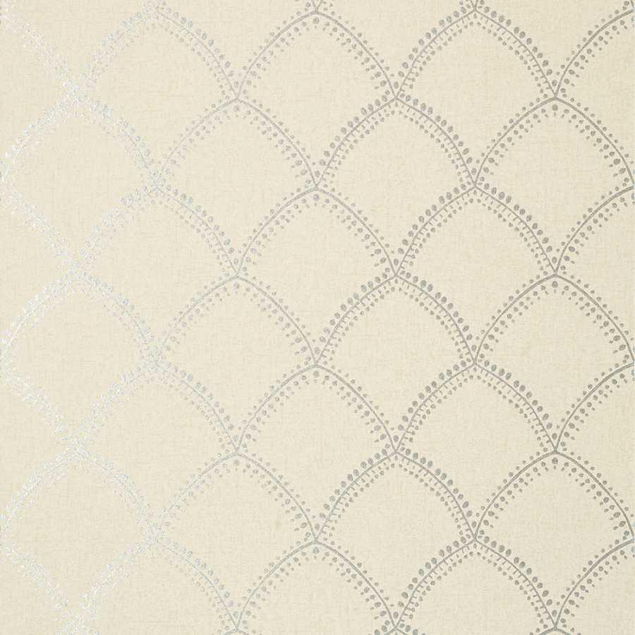 Anna French Watermark Burmese AT7907 Metallic on Beige Wallpaper