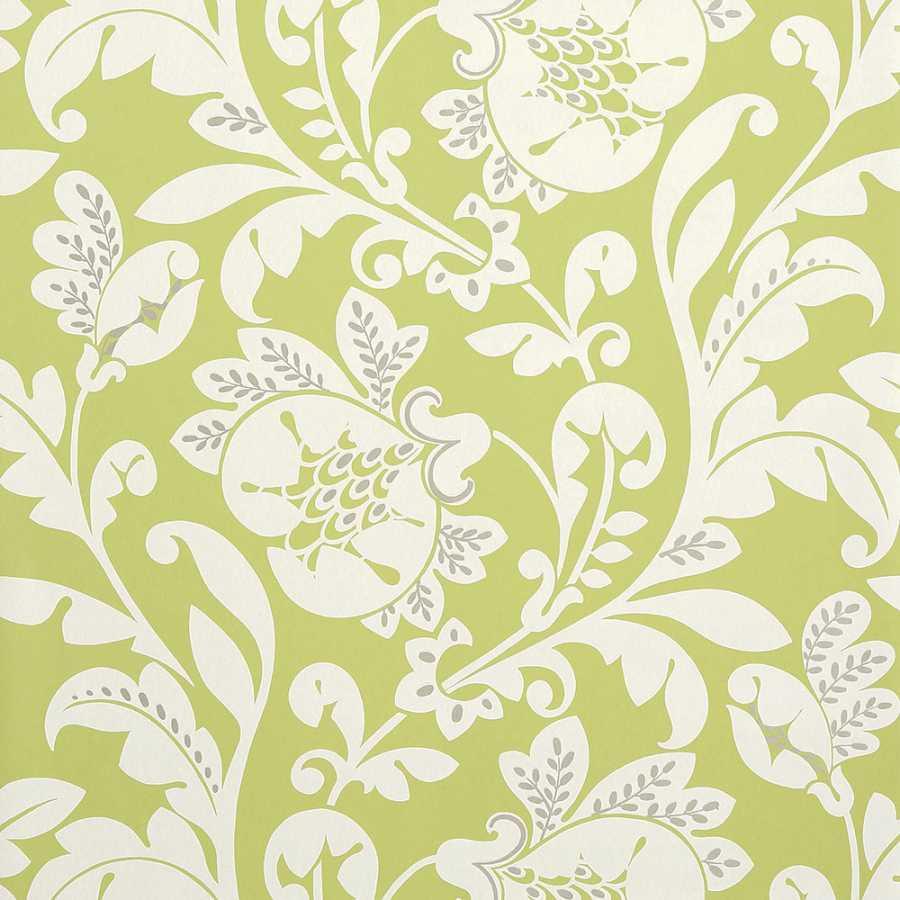 Anna French Zola Livorette AT34129 Green Wallpaper