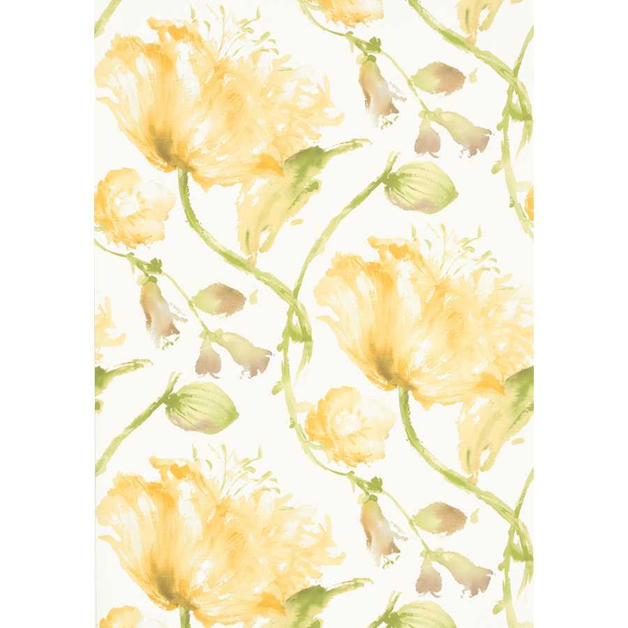 Anna French Zola Tuileries AT34156 Yellow Wallpaper