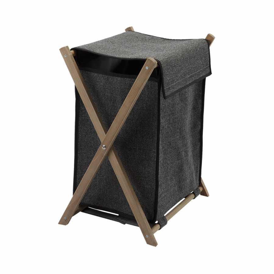 Aquanova Dali Laundry Basket - Dark Grey