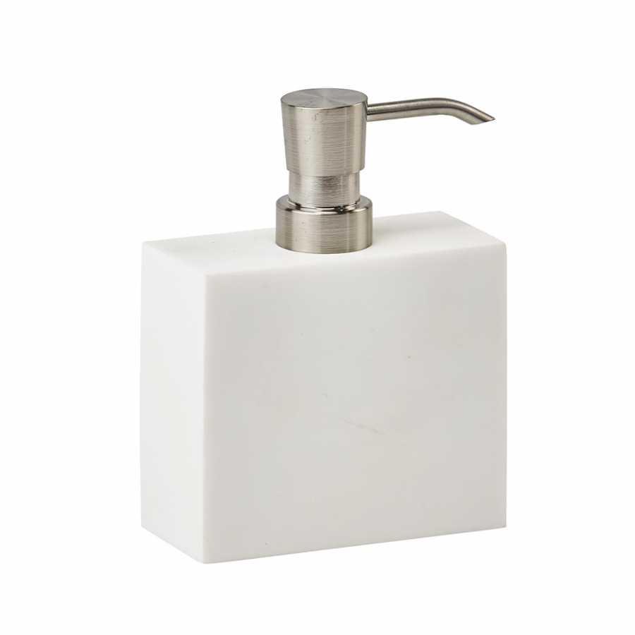 Aquanova Moon Soap Pump - White