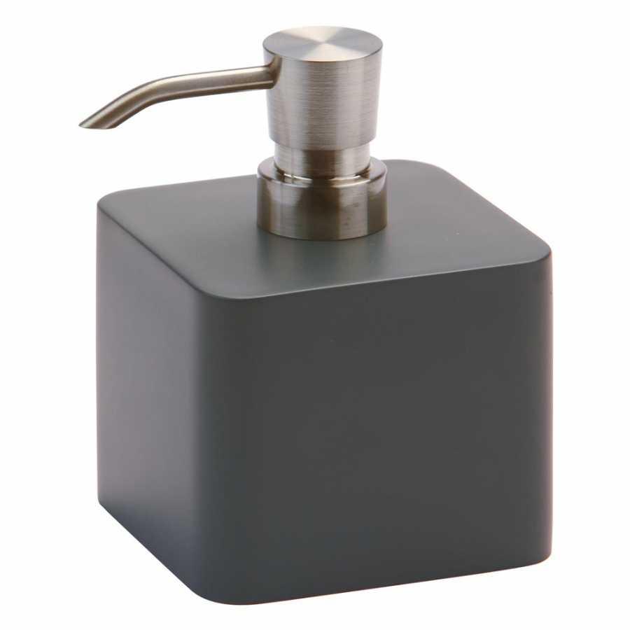 Aquanova Ona Square Soap Pump - Dark Grey