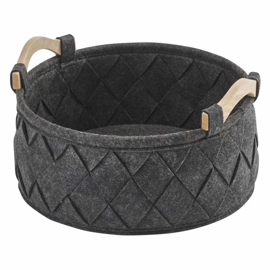 Aquanova Amy Storage Basket - Small - Dark Grey