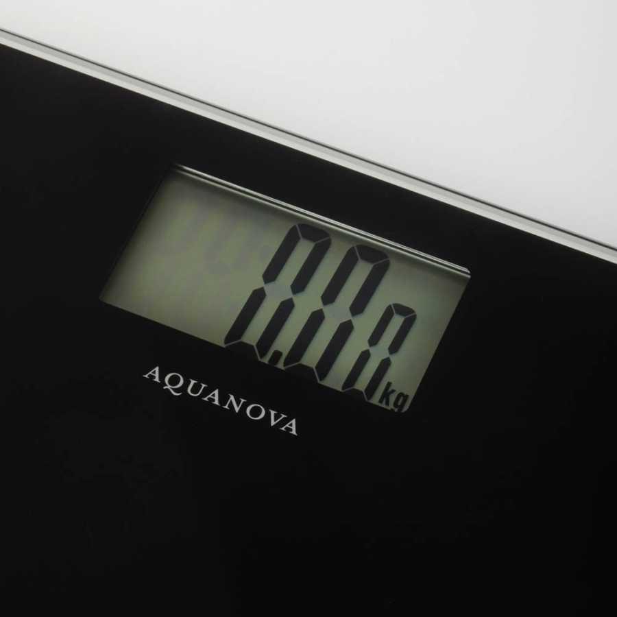 Aquanova Balanza Scales - Black