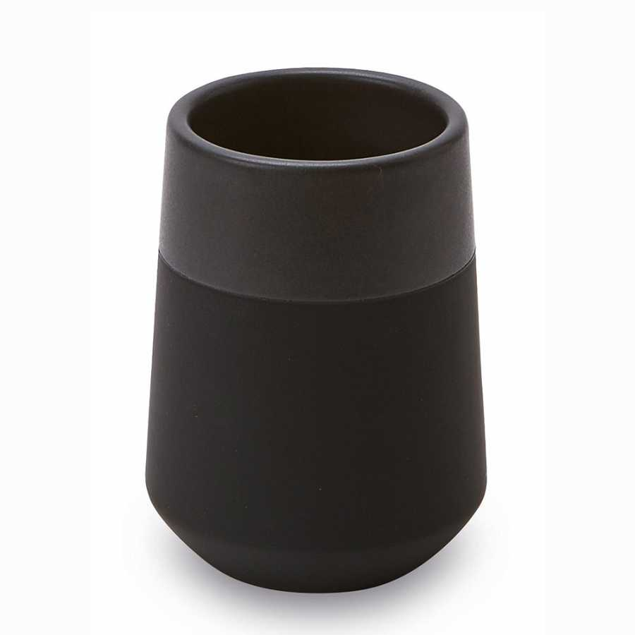 Aquanova Opaco Toothbrush Holder - Black