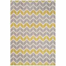 Asiatic London Arlo Chevron Rug - AR-06 Lemon / Grey