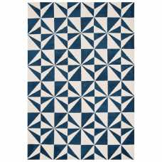 Asiatic London Arlo Mosaic Rug - AR-02 Denim