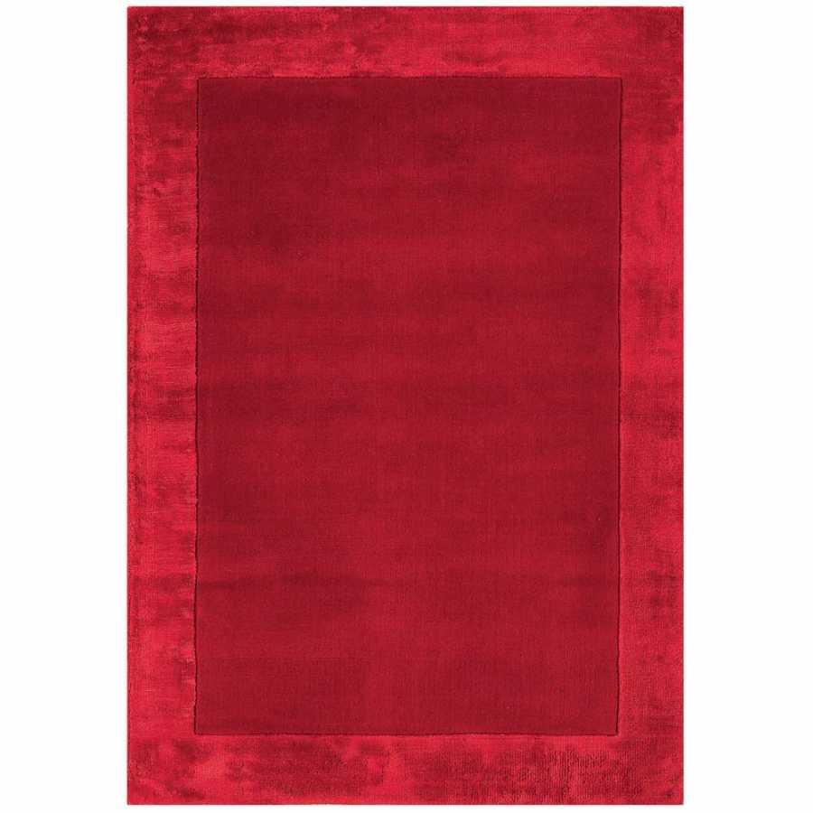 Asiatic London Ascot Rug - Red
