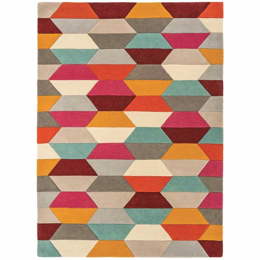 Asiatic London Funk Honeycomb Rug - Bright