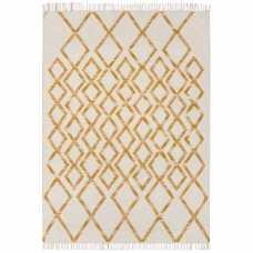 Asiatic London Hackney Kelim Diamond Rug - Yellow