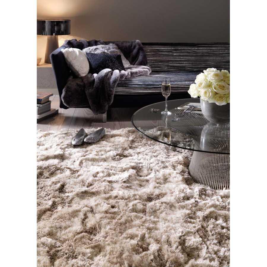 Asiatic London Plush Shaggy Rug - Sand