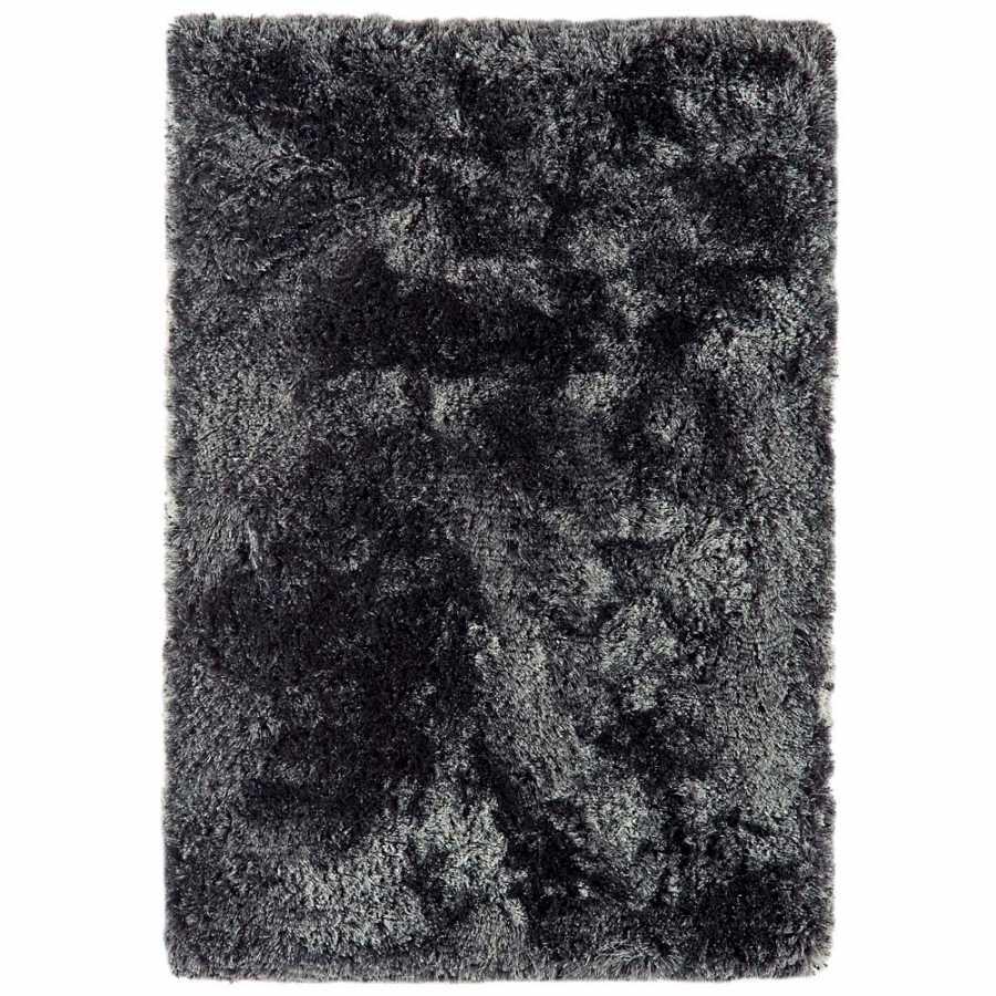 Asiatic London Plush Shaggy Rug - Slate