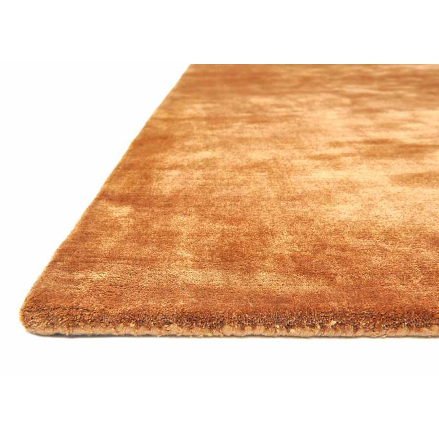 Katherine Carnaby Chrome Rug - Copper