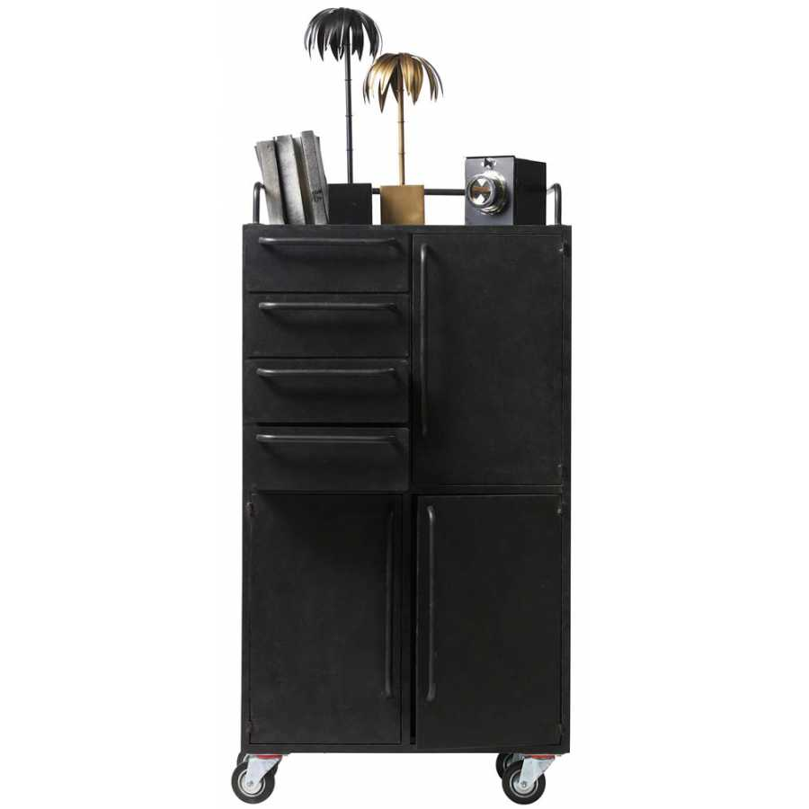 BePureHome Black Beauty Cabinet