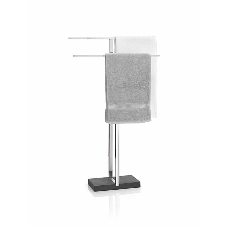 Blomus MENOTO Towel Stand  - Polished Stainless Steel