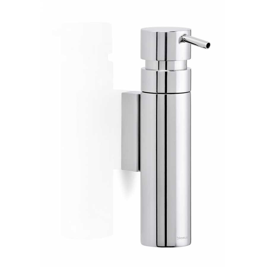 Blomus NEXIO Wall Mounted Soap Dispenser - Polished Stainless Steel