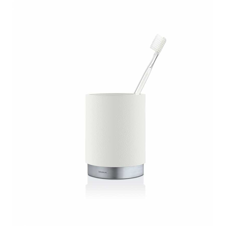 Blomus Ara Toothbrush Holder - White
