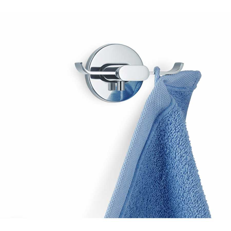Blomus AREO Twin Wall Hook - Polished Stainless Steel