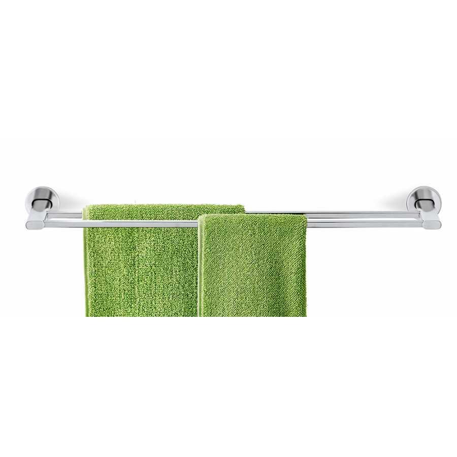 Blomus Areo Twin Towel Rails - Matt Stainless Steel