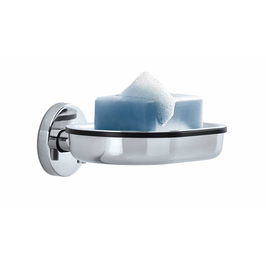 Blomus Areo Wall Mounted Soap Dish - Polished Stainless Steel
