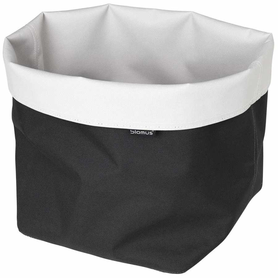 Blomus Ara Reversible Square Storage Basket - Sand & Anthracite