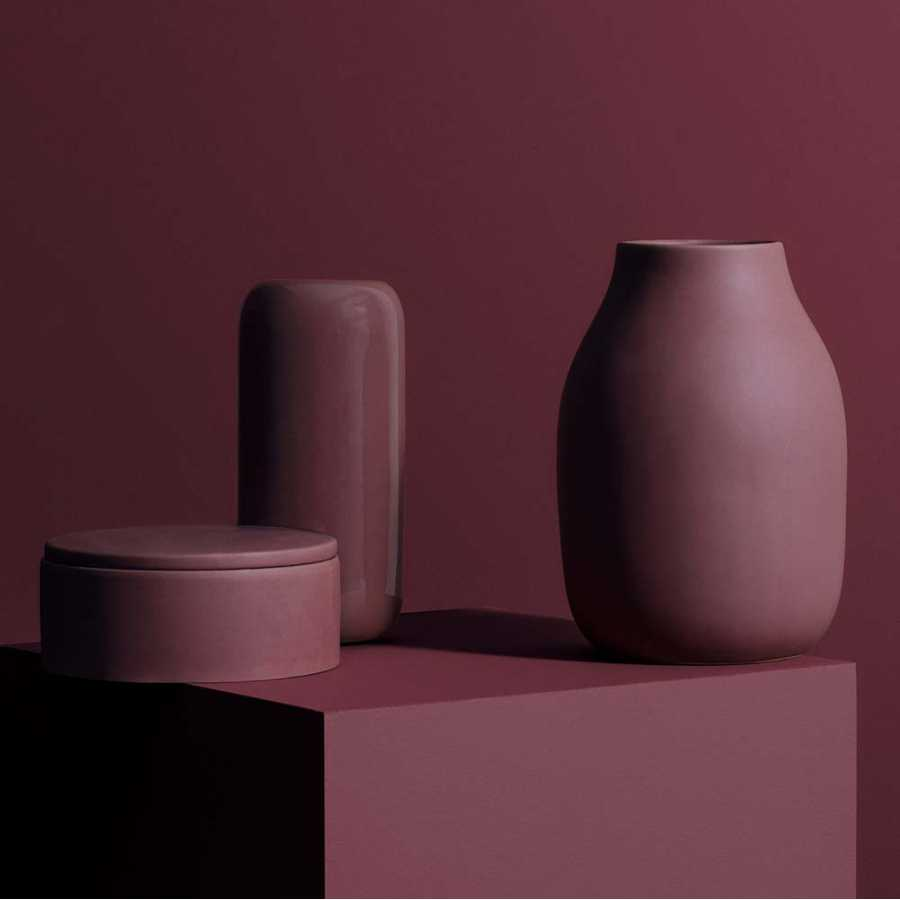 Blomus Colora Vase - Withered Rose