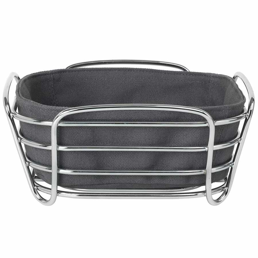 Blomus Delara Square Bread Basket - Magnet - Small