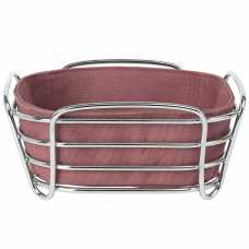 Blomus Delara Square Bread Basket - Withered Rose