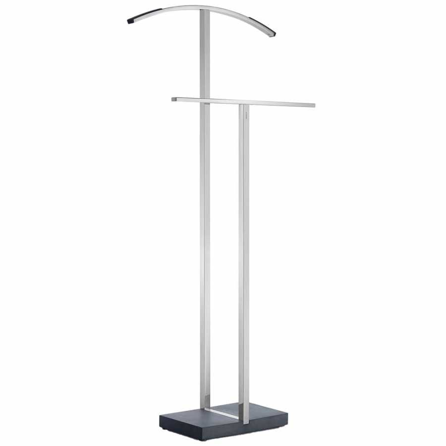 Blomus MENOTO Bathroom Valet Stand - Polished Stainless Steel