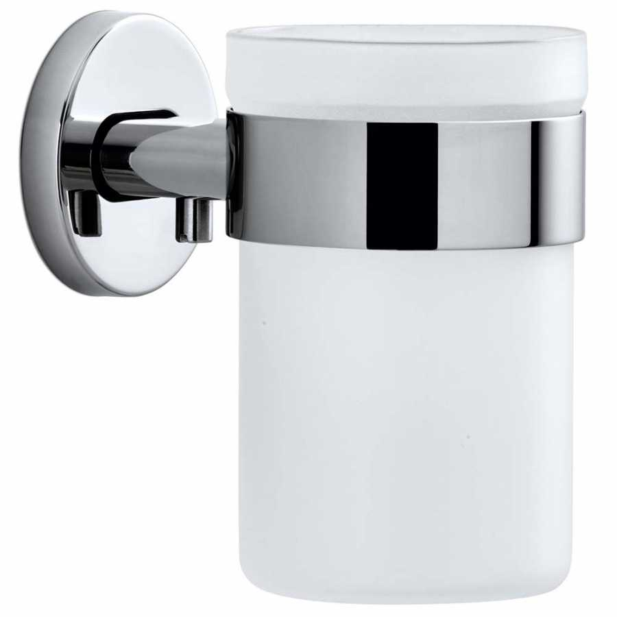 Blomus Areo Wall Mounted Toothbrush Holder - Polsihed Stainless Steel