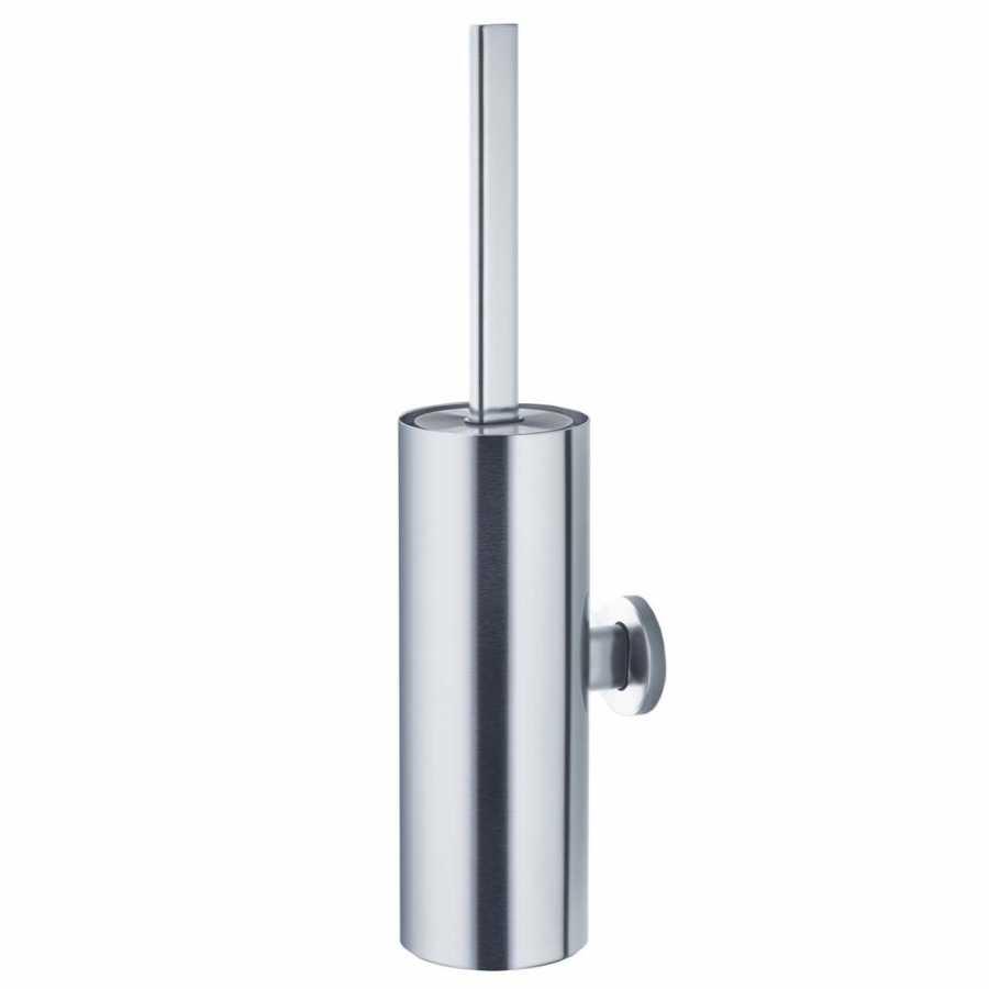 AREO Wall Mounted Toilet Brush - Matt Stainless Steel
