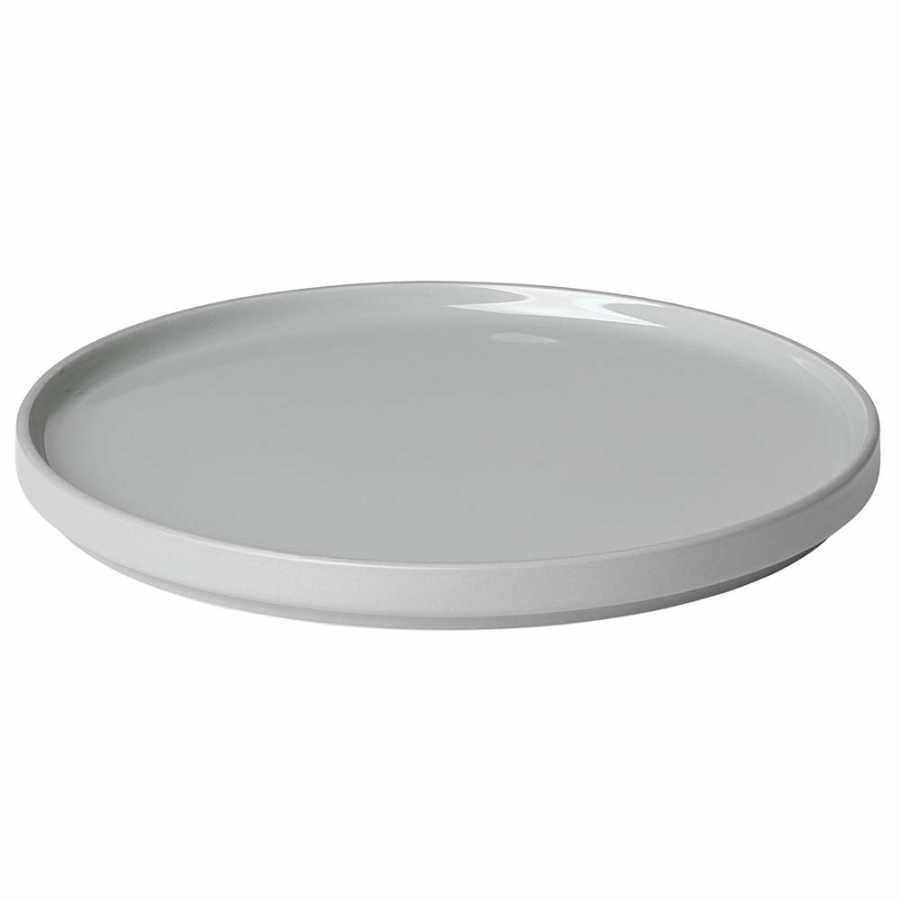 Blomus Mio Plates - Mirage Grey - Dessert Plate