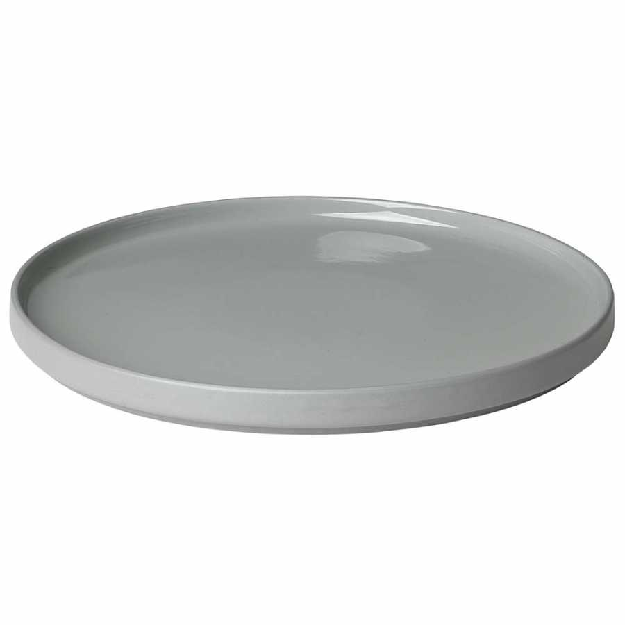 Blomus Mio Plates - Mirage Grey - Dinner Plate
