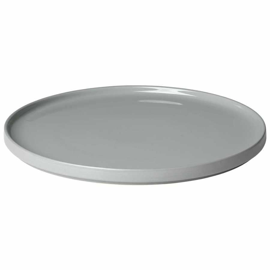 Blomus Mio Plates - Mirage Grey - Serving Plate