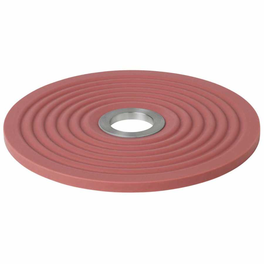 Blomus Oolong Silicone Trivet - Withered Rose
