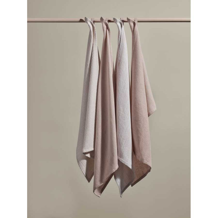 Blomus Belt Tea Towels - Set of 2 - Rose Dust