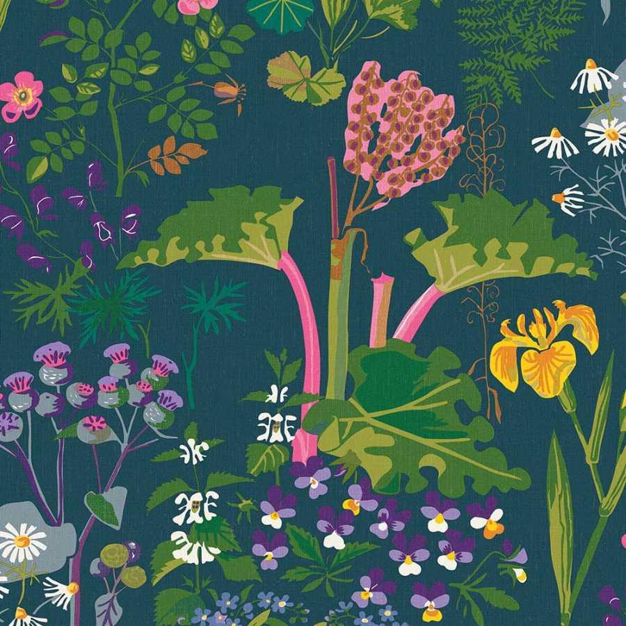 Borastapeter Scandinavian Designers II Rabarber 1791 Wallpaper