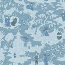 Cole and Son Archive Anthology Chinese Toile 100/8038 Wallpaper