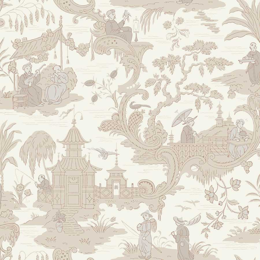Cole & Son Archive Anthology Chinese Toile 100/8039 Wallpaper