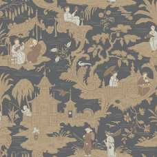 Cole and Son Archive Anthology Chinese Toile 100/8040 Wallpaper