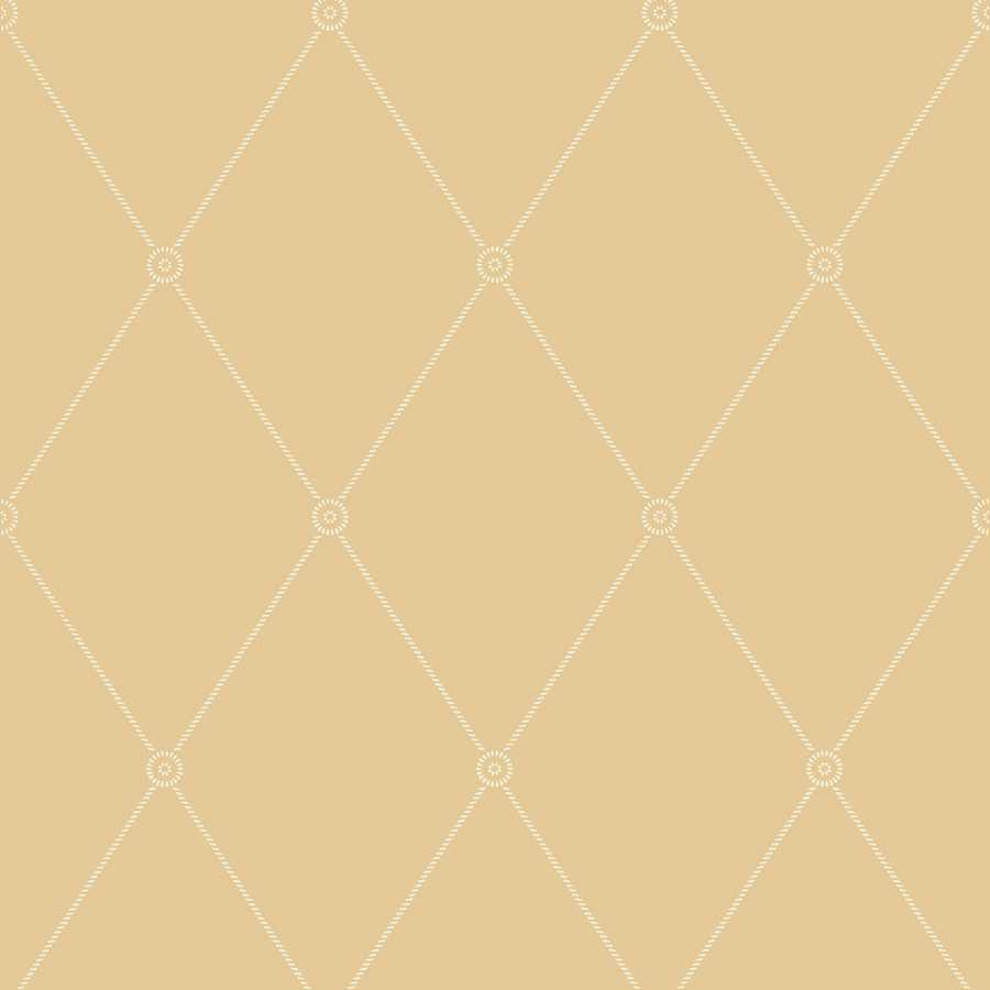 Cole & Son Archive Anthology Large Georgian Rope Trellis 100/13064 Wallpaper