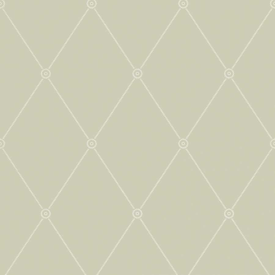 Cole & Son Archive Anthology Large Georgian Rope Trellis 100/13065 Wallpaper