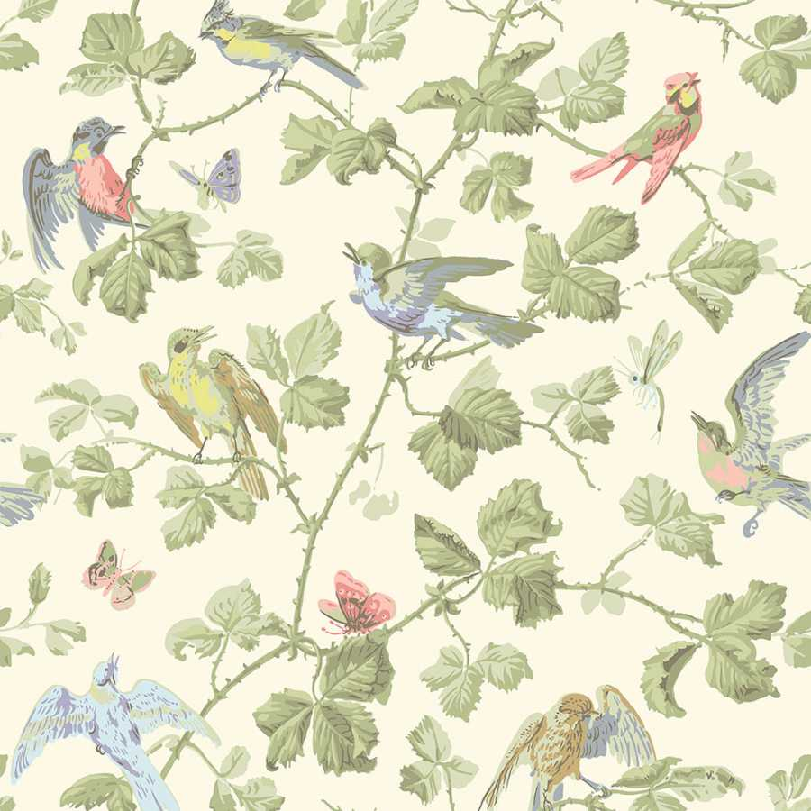 Cole & Son Archive Anthology Winter Birds 100/2006 Wallpaper