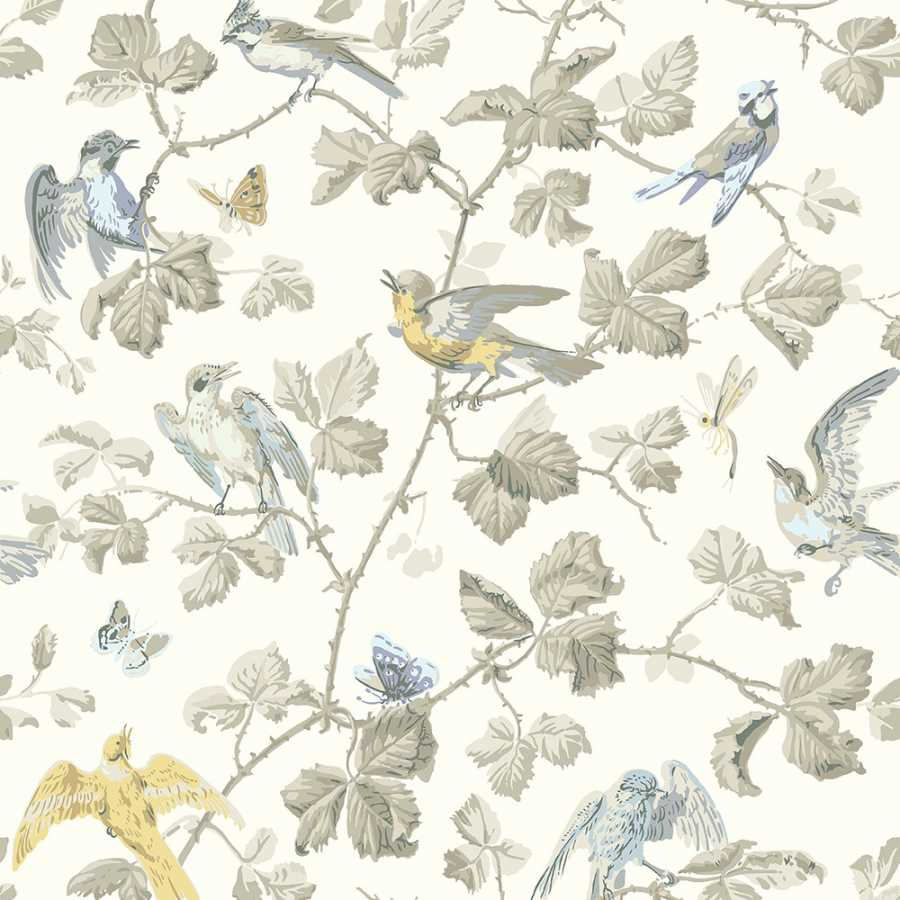 Cole & Son Archive Anthology Winter Birds 100/2008 Wallpaper