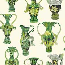 Cole and Son Ardmore Khulu Vases 109/12056 Wallpaper