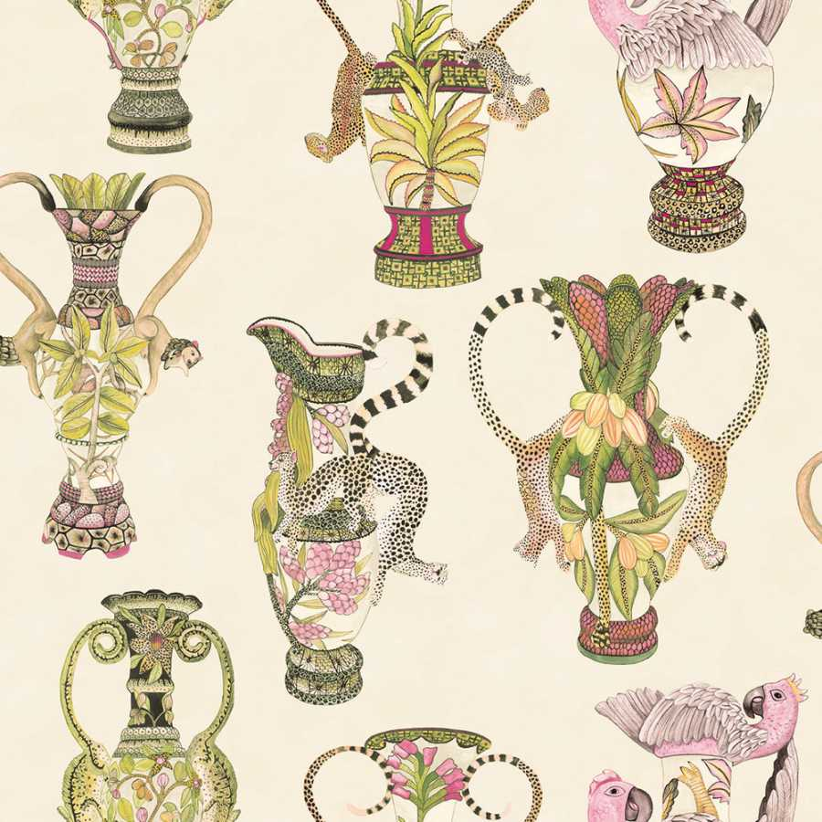 Cole & Son Ardmore Khulu Vases 109/12057 Wallpaper