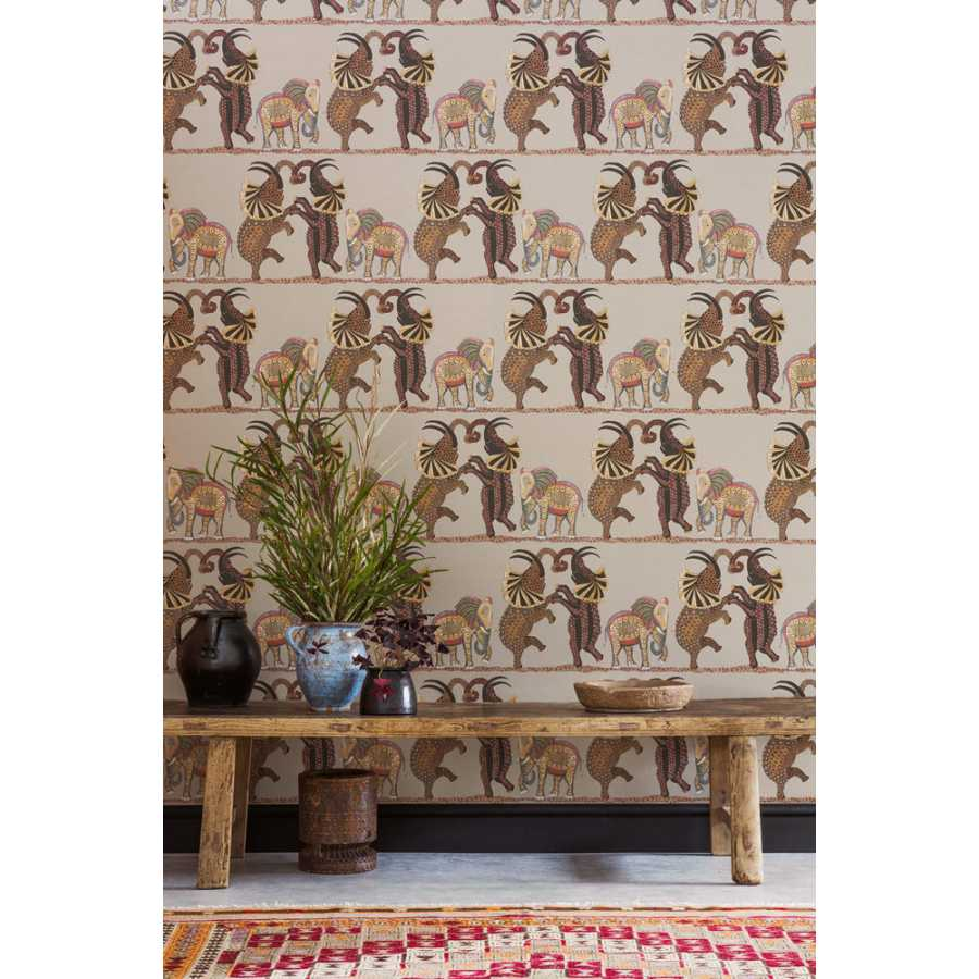 Cole & Son Ardmore Safari Dance 109/8038 Wallpaper