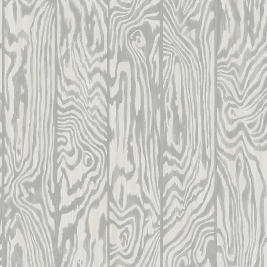 Cole & Son Curio Zebrawood 107/1004 Wallpaper - Light Grey