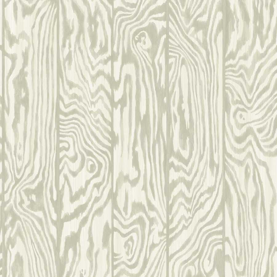Cole & Son Curio Zebrawood 107/1005 Wallpaper - Cream and Grey