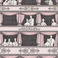 Cole and Son Fornasetti Teatro 114/4008 Wallpaper